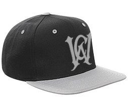 Image of WCA Logo Snapback (blk/gry)