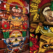 Image of Totem: 7-Skate Deck Artwork