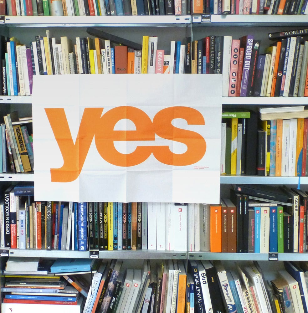 Image of yes Poster & Pin