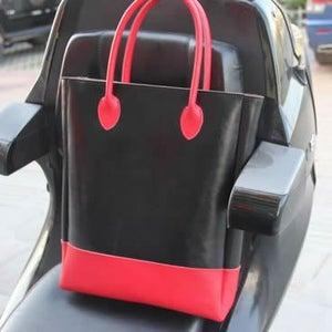 Image of Handmade Artisan Genuine Leather Women's Tote Handbag Satchel (m25)