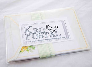 Image of Daffodil Letter Envelope