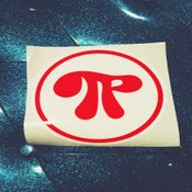 Image of Pi Logo Sticker