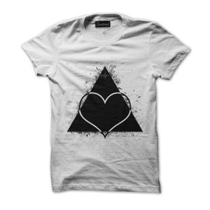 Image of LOVE TRIANGLE TSHIRT