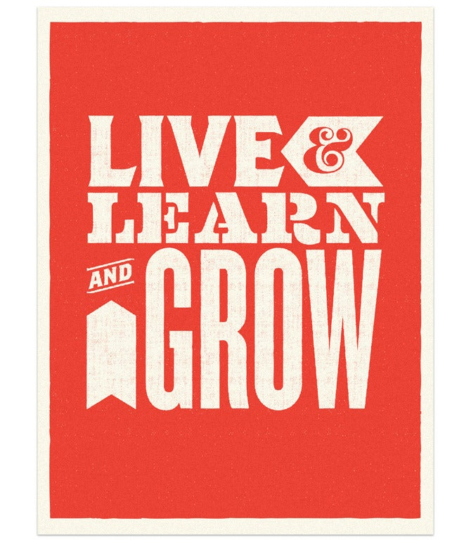 Image of Live, Learn & Grow