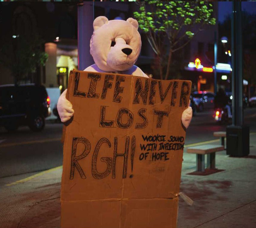 CD - Rgh!(Wookie Sound with inflection of hope)