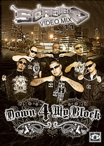 Image of Screwed Video Mix Vol 11 - Down 4 My Block