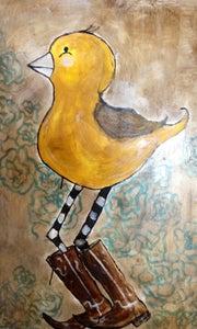 Image of Yellow Birdie