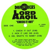 """Image of LORD AAQIL """"Check it Out"""" 12"""" ***SOLD OUT*****"""