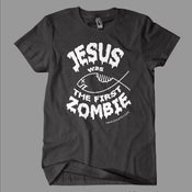 Image of Jesus Was the First Zombie Men's T-shirt