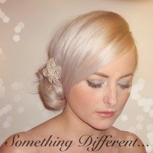 Image of Ava (Beaded Flower Hair Clip)