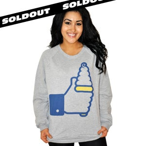 "Image of I ""Like"" Ice Cream Sweatshirt (Unisex) Limited Edition!"