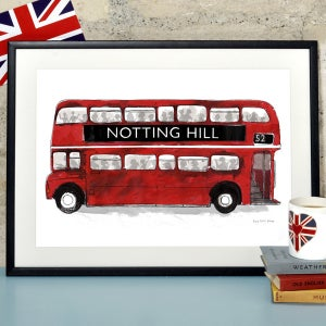 Alice Tait 'London Bus' Print - Alice Tait Shop