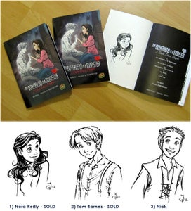 """Image of Signed Graphic Novel """"My Boyfriend is a Monster: I Date Dead People"""""""