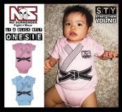 Image of NS GI and Black Belt Onesie