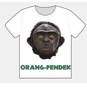 Image of 'WOODY' ORANG-PENDEK T-SHIRT