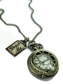 Image of Drink Me Tag Watch Necklace - Choose from 3 different face