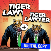 Image of Tiger Lawyer #2 - Deluxe Print & Digital Edition Combo