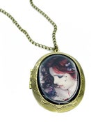 Image of Vampire Butterfly Locket