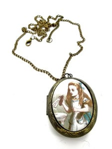 Image of Alice in Wonderland Drink Me Locket