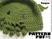 Image of The Cthulhu Toque - CROCHET PDF PATTERN