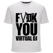 Image of Fuck You Virtual DJ T-Shirt (Shipping Now)