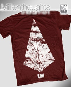 Image of LFO DIAMOND SHIRT - MAROON