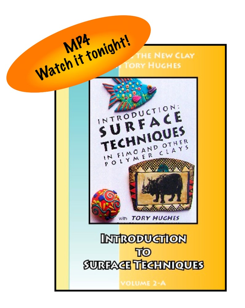 "Image of MP4: ""Introduction to Surface Techniques"" Mastering the New Clay DVD volume 2a"