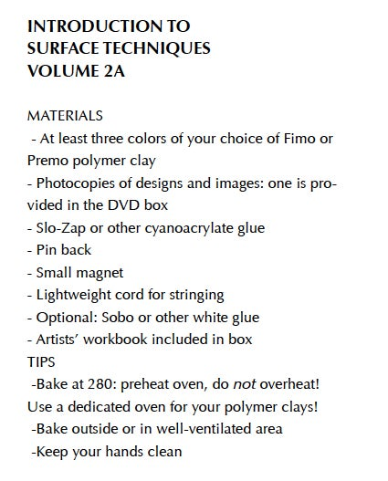 """Image of MP4: """"Introduction to Surface Techniques"""" Mastering the New Clay DVD volume 2a"""