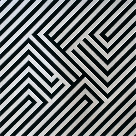 Image of M (Zebra Bold) Screen Print Limited Edition