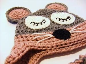Image of Sleepy mouse hat - girls