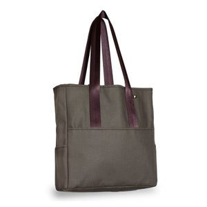 Image of Pocket Tote - Green Canvas