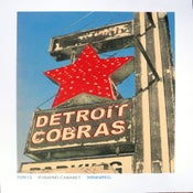 Image of Detroit Cobras Winnipeg Poster July 2012 - Cancelled Show