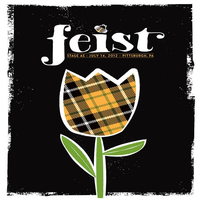 Image of Feist poster