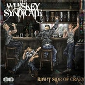 Image of The Whiskey Syndicate - Right Side Of Crazy - CD ALBUM