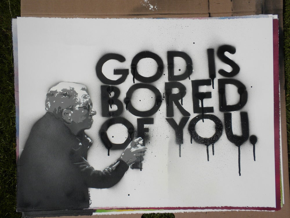 Image of God is bored of you #6/16