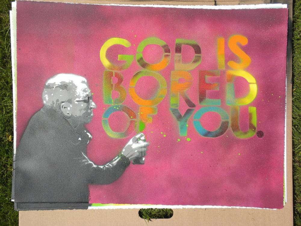 Image of God is bored of you #8/16