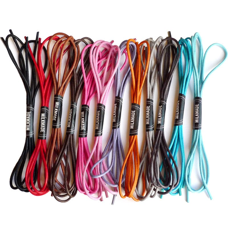 Image of MILKMADE Second String® Waxed Round Shoe Laces
