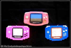 Image of Game Boy advanced Necklaces