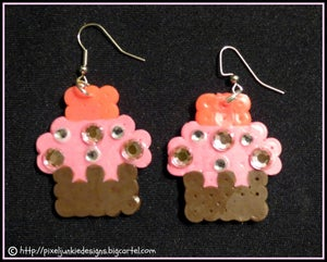 Image of Cup Cake Earrings
