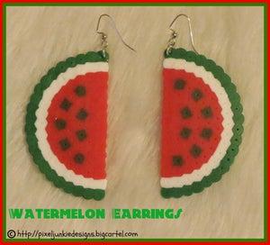 Image of Watermelon Earrings