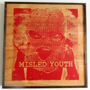 Image of Misled Youth Red on Wood