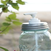 Image of Lid for Mason Jar Soap Dispenser
