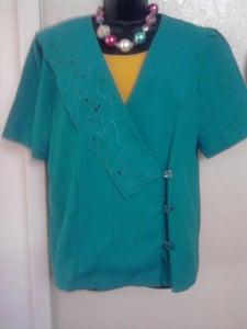 Image of Teal Vintage Blazer sz 16