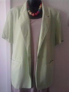 Image of Lime Green Blazer sz 16