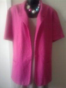 Image of Hot Pink Vintage Blazer sz 22