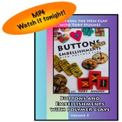 """Image of MP4: """"Buttons and Embellishments in Polymer"""" Mastering the New Clay volume 5"""