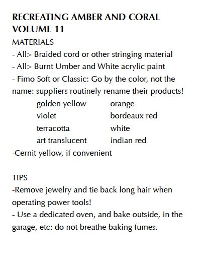 """Image of MP4: """"Recreating Amber and Coral in Polymer"""" Mastering the New Clay DVD volume 11"""