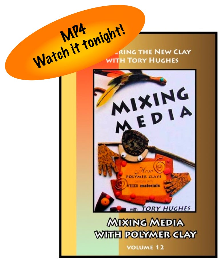 "Image of MP4: ""Mixing Media and Polymer"" Mastering the New Clay DVD volume 12"