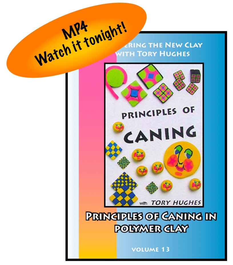 "Image of MP4: ""Basic Caning Techniques in Polymer"" Mastering the New Clay DVD volume 13"