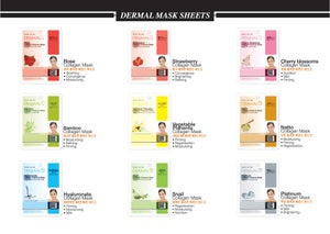 Image of DERMAL KOREA COLLAGEN masks◀ special price!!